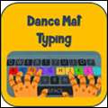 icon dance mat typing
